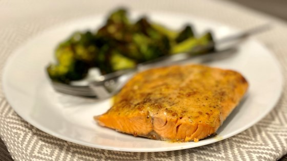 Photo of Instant Pot® Honey-Mustard Salmon from Frozen by Diana Moutsopoulos