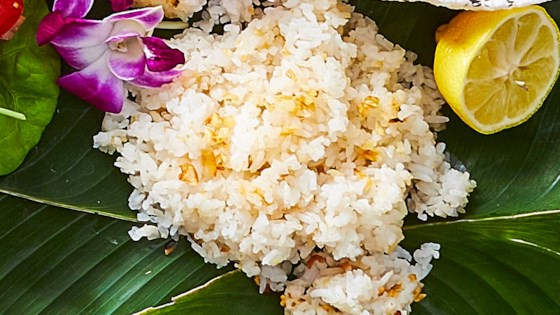 Photo of Filipino Coconut Garlic Fried Rice (Sinangag) by Yana Gilbuena
