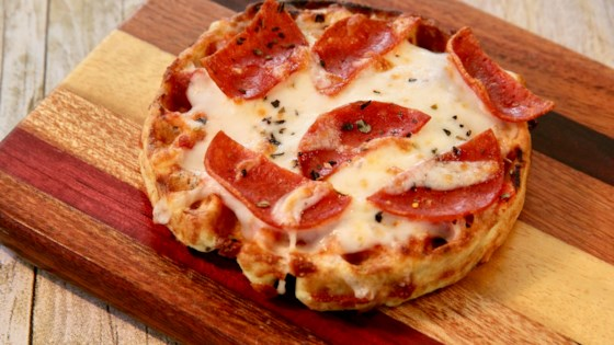Photo of Chaffle Pepperoni Pizzas by lutzflcat