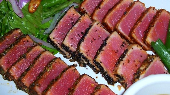 Seared Ahi Tuna Steaks Recipe