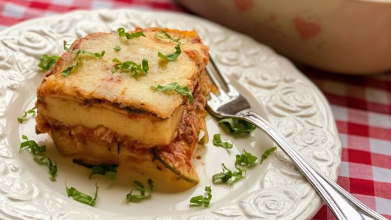 Photo of Italian Polenta Casserole by Kim's Cooking Now