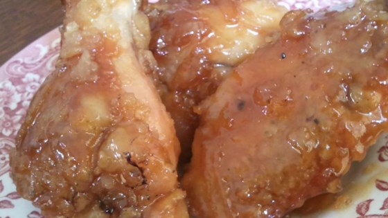 Photo of Spicy Orange Chicken Wing Sauce by Chef John