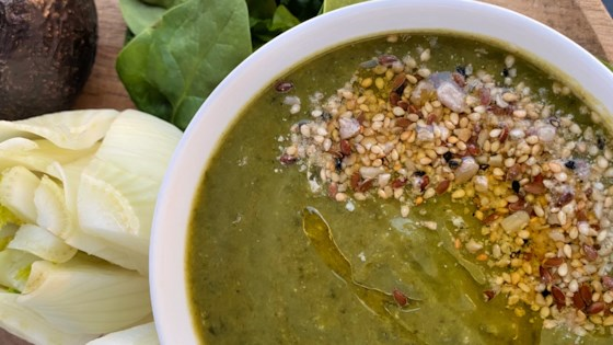 Photo of Green Detox Soup by Buckwheat Queen