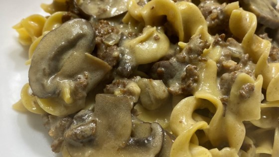 Photo of Instant Pot® Ground Beef Stroganoff by peloquinswife