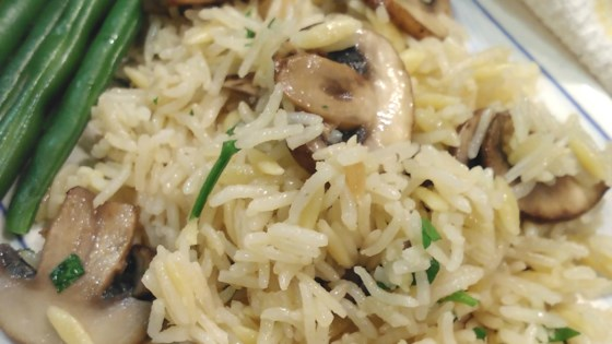 Photo of Instant Pot® Rice and Orzo Pilaf with Mushrooms by Bren