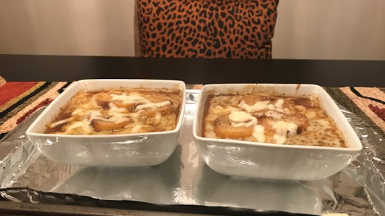 Photo of French Onion Soup with Port Wine by Leah Thompson