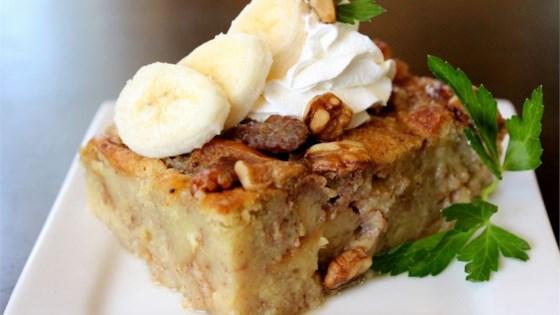 Photo of Walnut Banana Bread Pudding by LoavesofLuv