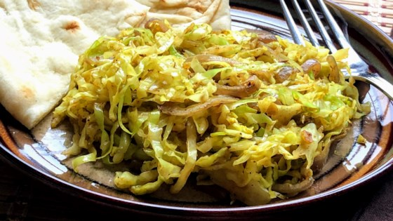 Photo of Indian Fried Cabbage by Kim's Cooking Now