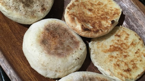 Photo of Sourdough English Muffins by mekebby