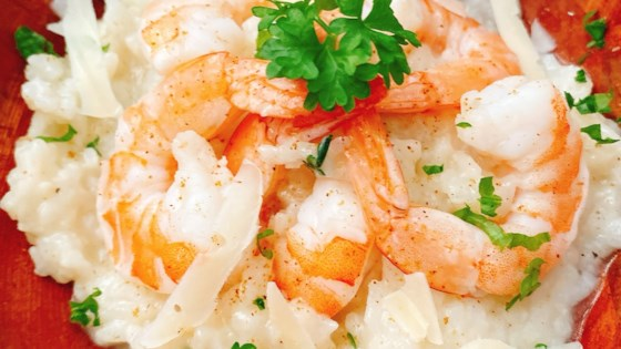 Photo of Instant Pot® Cajun Shrimp Risotto by thedailygourmet