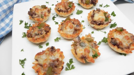 Photo of Philly Cheesesteak Phyllo Bites by Soup Loving Nicole