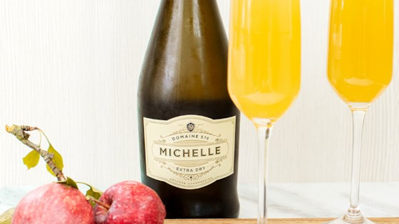 Photo of Sparkling Apple Cider Mimosa by Chateau Ste Michelle