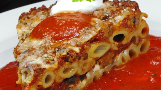 Photo of Three Cheese Baked Pasta by Lalena