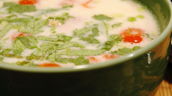 Tom Ka Gai (Coconut Chicken Soup) Recipe