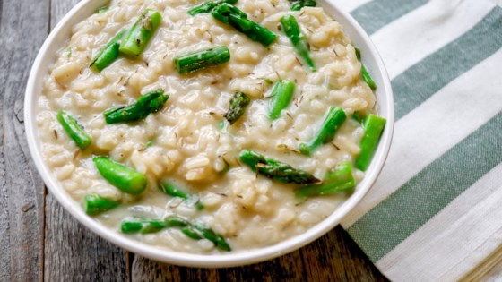 Photo of Instant Pot® Asparagus Risotto by fabeverydayblog