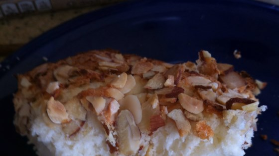 angel food cake with toasted almonds review by errica b hutty