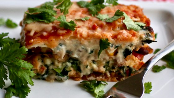 Photo of Vegetarian Mexican Lasagna by My Hot Southern Mess