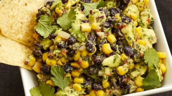 Photo of Corn and Black Bean Guacamole by laura patt