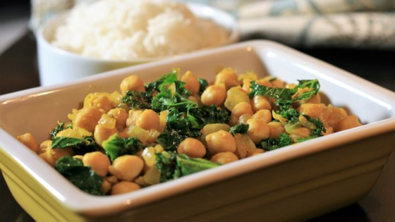 Photo of Indian Kale with Chickpeas by Lady Laff