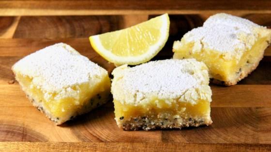 Photo of Poppy Seed-Lemon Bars by lutzflcat