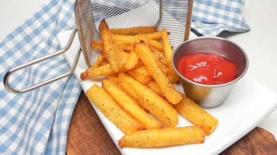 Photo of Air Fryer Polenta Fries by Soup Loving Nicole