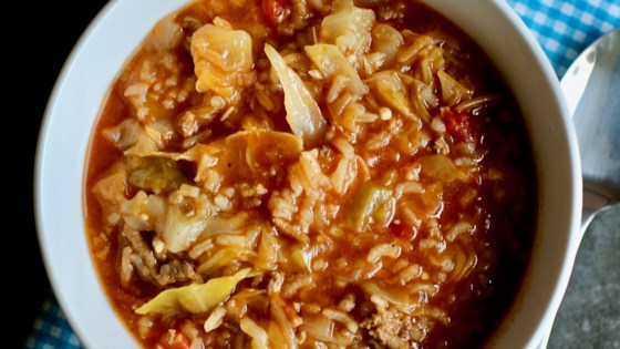 Photo of Instant Pot® Cabbage Roll Soup by My Hot Southern Mess