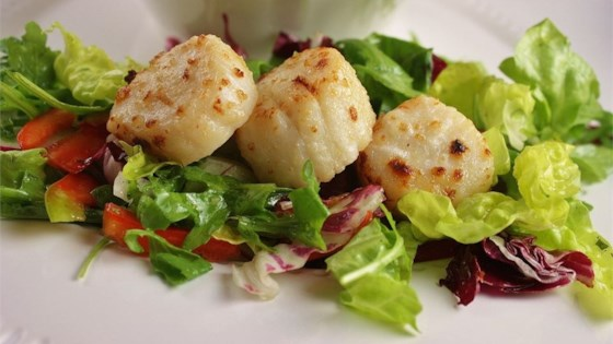 broiled scallops review by melissa