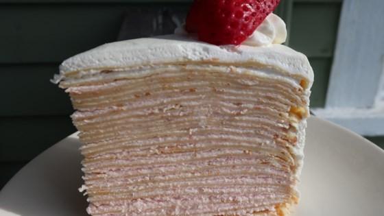 Photo of Chef John's Strawberry Crepe Cake by Chef John