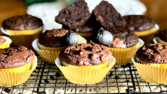 Photo of Black Garlic Chocolate Muffins by Yoly