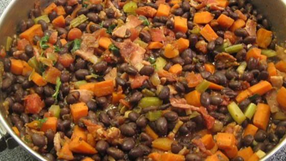 Photo of Black Beans with Bacon by Marlies Monika