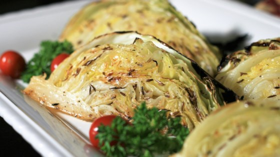 Photo of Roasted Cabbage Wedges by France C