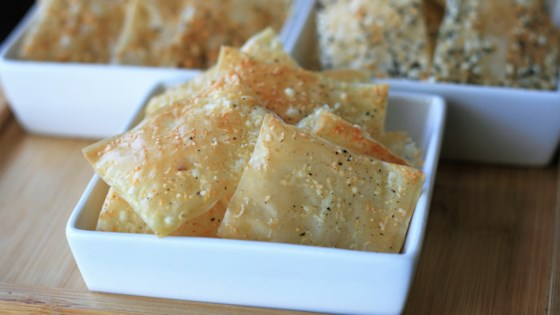 Photo of Truffle-Parmesan Phyllo Crackers by France C