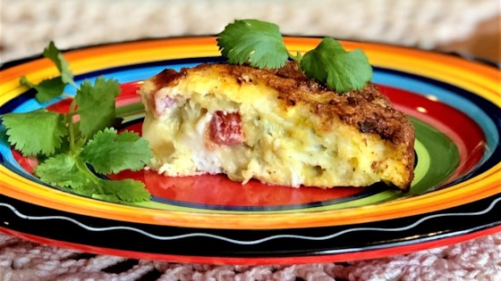 Photo of Air Fryer Chile-Cheese Frittata by Yoly
