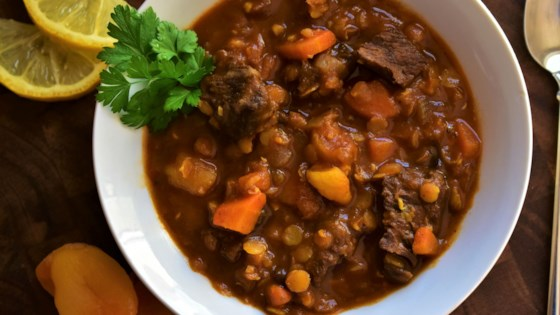 Photo of Moroccan Beef and Lentil Stew by Kim