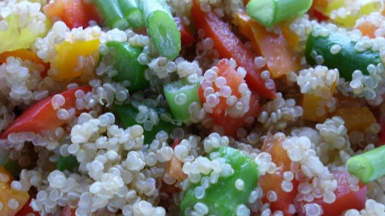 Photo of Quinoa Vegetable Salad by JANELLECOLE