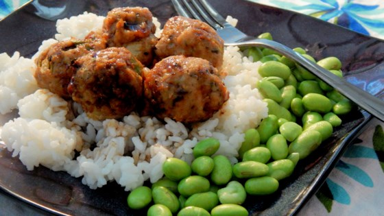 Photo of Asian Turkey Meatballs with Chile-Garlic Glaze by CaraMeg