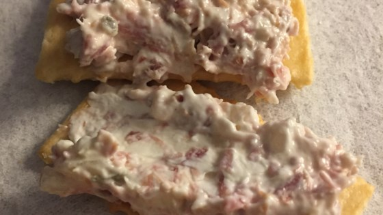 ham salad with a schmear review by leslie in rehoboth beach