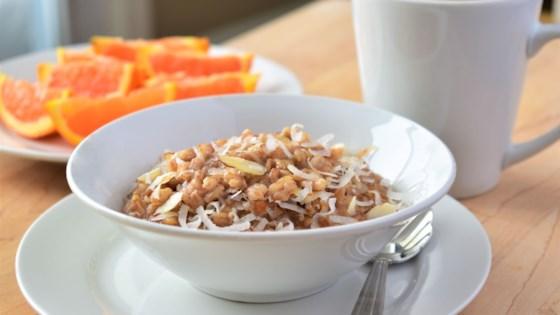 Photo of Coconut Farro Porridge by Kim