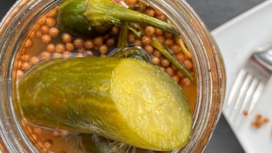 Photo of Za'atar Pickles by veithk