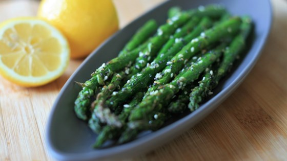 """Photo of """"Everything"""" Seasoning Air Fryer Asparagus by France C"""