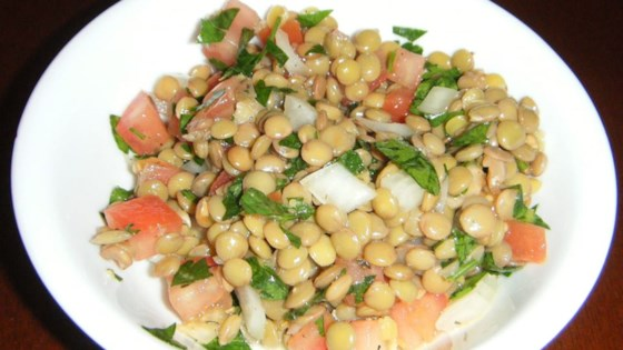 Photo of Lemon Lentil Salad by Renate  Kheim