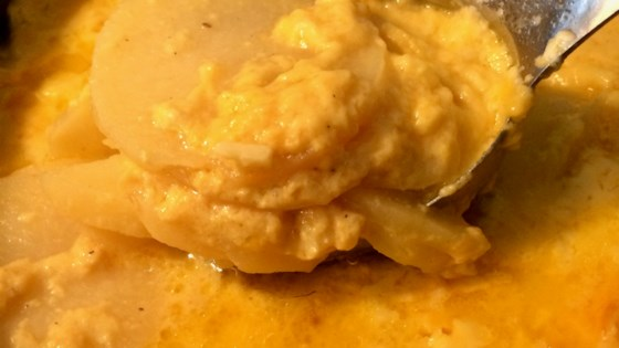 Photo of Slow Cooker Scalloped Potatoes by Kattygirl