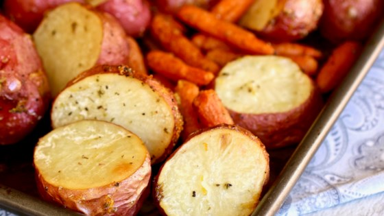 Photo of Roasted Carrots and Potatoes by Peggy Oliver