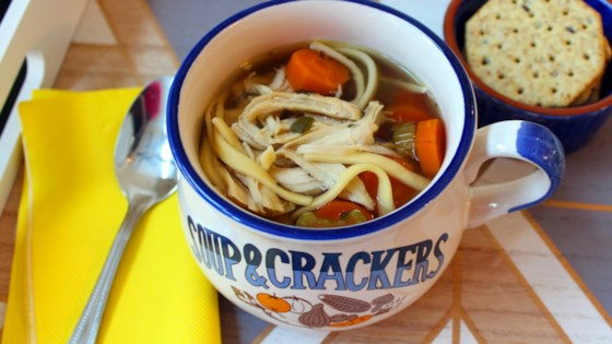 Photo of Slow Cooker Chicken Noodle Soup by Megan S