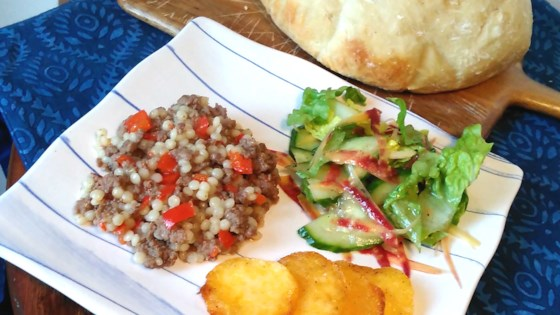 Photo of Instant Pot® Ground Beef and Israeli Couscous by Bren