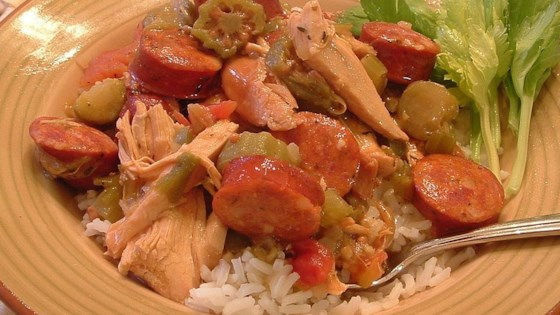 Photo of Chicken Andouille Gumbo by Christine L.