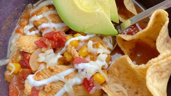 Photo of Chicken Taco Soup for Two by thedailygourmet