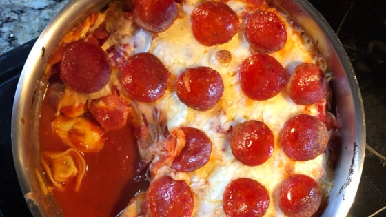 Photo of One-Pot Pizza Tortellini Bake by Bianca Haag