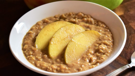 Photo of Spiced Slow Cooker Apple Oatmeal by JFISHER58