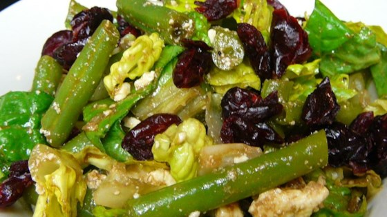 Photo of Green Bean Salad with Feta by USA WEEKEND columnist Jean Carper